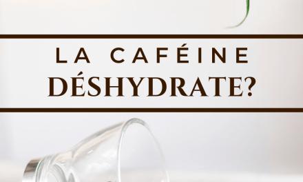 LA CAFÉINE DÉSHYDRATE? – LA VÉRITÉ DERRIÈRE LES MYTHES SUR LE CAFÉ