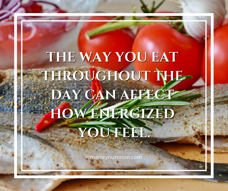 The way you eat throughout the day can affect how energized you feel.